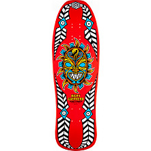 Powell Peralta Guerrero Mask Skateboard Deck Red - 10 x 31.75