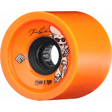 Powell Peralta Pro Kevin Reimer Skateboard Wheels 75mm 78A 4pk Orange