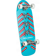 Vato Rat Bones Custom Complete Skateboard Blue - 10 x 31