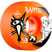 BONES WHEELS STF Pro Bartie Angel 53mm Orange Wheel 4pk