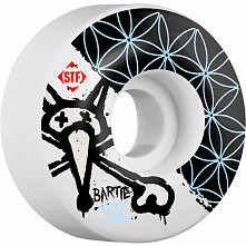 BONES WHEELS STF Pro Bartie Flower 52mm Wheels 4pk