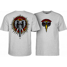 Powell Peralta Vallely Elephant T-shirt Grey