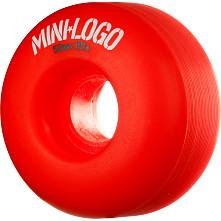 Mini Logo Wheel C-cut 52mm 101A Red 4pk