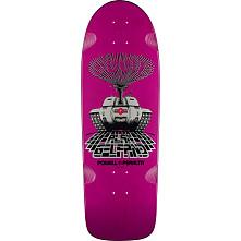 Powell Peralta Gelfand Ollie Tank Skateboard Blem Deck Purple - 10 x 30