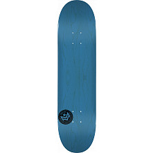 "MINI LOGO CHEVRON STAMP 2 ""13"" SKATEBOARD DECK 191 BLUE - 7.5 X 28.65"