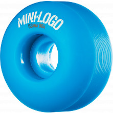 Mini Logo Wheel Hybrid C-cut 53mm 90A Blue 4pk