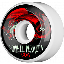 Powell Peralta Oval Dragon Skateboard Wheels 56mm 90A 4pk