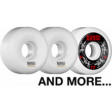 BLEM BONES WHEELS STF V5 54mm White 4pk