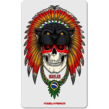 Powell Peralta Kelvin Hoefler Skull Sticker (Single)