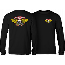 Powell Peralta Winged Ripper L/S T-shirt Black