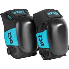 TSG Force III A (arti-Lidge) Knee Pads Black with an Aqua trim