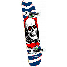 Powell Peralta Ripper One Off Navy Birch Complete Skateboard - 7.75 x 31.08