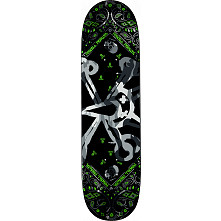Powell Peralta Vato Rat Band Grey Skateboard Deck - 8.25 x 32.5