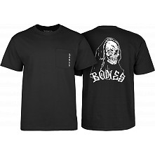 BONES WHEELS Terror Nacht Creeper T-shirt Black