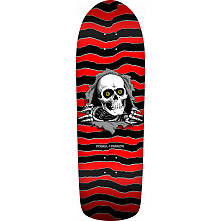 Powell Peralta Ripper Skateboard Deck Red/Black - 10 x 31.75