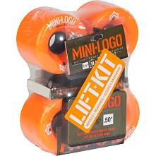 Mini Logo A.W.O.L. Lift Kit 66mm Orange Skateboard Wheels