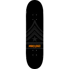 Mini Logo Quartermaster Deck 188 Black - 7.88 x 31.67