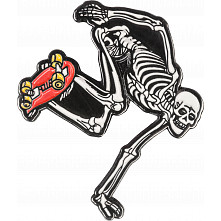 Powell Peralta Skateboarding Skeleton Lapel Pin 2
