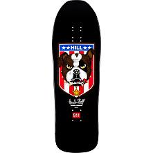 Powell Peralta Frankie Hill Bulldog Skateboard Deck Black -10 x 31.5