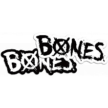 "BONES WHEELS XBones 5"" Single Sticker"