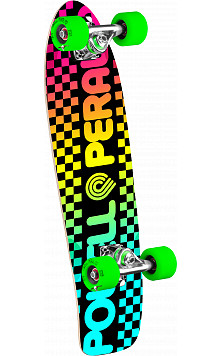 Powell Peralta Checker Cruiser 273 Skateboard Assembly - 7.35 x 25