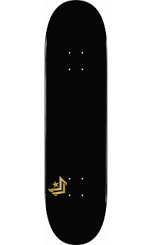 Mini Logo Chevron Skateboard Deck 124 Black - 7.5 x 31.375
