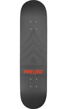 Mini Logo Quartermaster Deck 124 Grey - 7.5 x 31.375