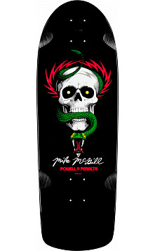 Powell Peralta Mike McGill OG Skull and Snake Skateboard Blem Deck - 10 x 30.125