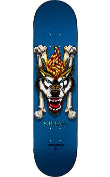 Powell Peralta Kilian Martin Wolf 3 Skateboard Deck Blue - 8 x 32.125