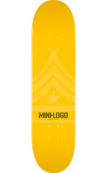 Mini Logo Quartermaster Deck 191 Yellow - 7.5 x 28.65