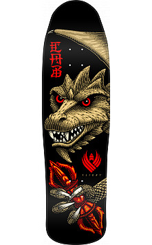 Powell Peralta Pro Steve Caballero Dragon Wing Flight® Skateboard Deck - Shape 216 - 9 x 31.9