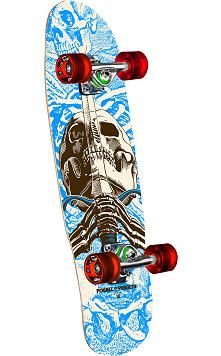 "Powell Peralta Mini Skull and Sword Complete Skateboard 186 K12 - 8.0"" x 30"""