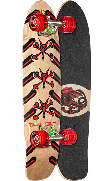 Powell Peralta Sidewalk Surfer Rat Bones Skateboard Cruiser Assembly Natural - 7.75 x 27.20 WB 14.0