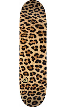 "MINI LOGO LEOPARD FUR ""18"" SKATEBOARD DECK 255 K20 8.0 X 31.45"