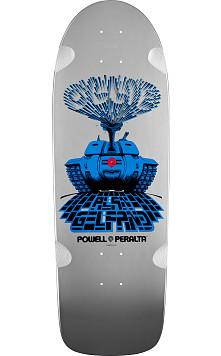 Powell Peralta Alan Gelfand Ollie Tank Silver Deck - 10 x 30