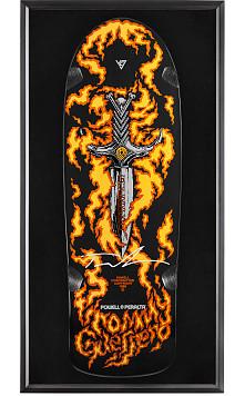 Bones Brigade® Shadowbox Tommy Guerrero BLEM Skateboard Deck Signed by Guerrero