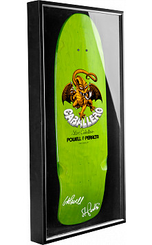 Bones Brigade® Shadowbox Caballero Skateboard Deck Signed by GAP/Stacy