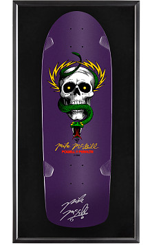 Bones Brigade® Shadowbox McGill Blem Skateboard Deck Purple - Signed by Mike