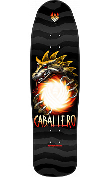 Powell Peralta Steve Caballero Dragon Ball Flight Skateboard Deck - Shape 216 - 9 x 31.9
