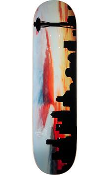 """Mini Logo Chevron """"11"""" Skateboard Deck 242 City Seattle - 8 x 31.45"""