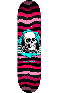 Powell Peralta Ripper Skateboard Deck Pink - Shape 244 - 8.5 x 32.08