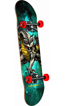 Powell Peralta Cab Dragon Cosmic Green Complete Skateboard - 7.5 x 28.65