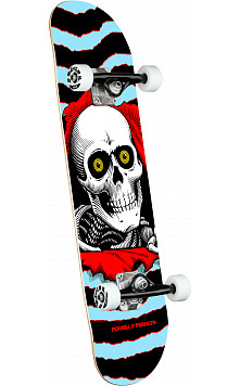 Powell Peralta Ripper One Off Blue Complete Skateboard - 8 x 31.45