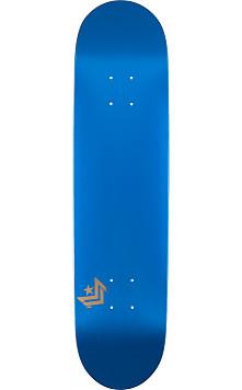 Mini Logo Chevron Skateboard Deck 250 Metallic Blue - 8.75 x 33