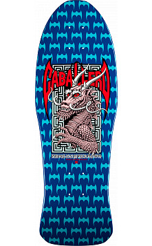 Bones Brigade® Steve Caballero 6th Sereis Reissue Deck Blue- 10 x 30