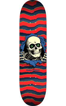 Powell Peralta Ripper Skateboard Deck Red - Shape 243 - 8.25 x 31.95