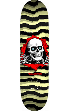 Powell Peralta Ripper Skateboard Deck Pastel Yellow 245 K21 - Shape 245 - 8.75 x 32.95