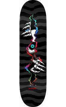 Powell Peralta Ripper Peeker Skateboard Deck Black 244 K20 - 8.5 x 32