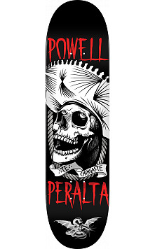 Powell Peralta Te Chingaste Skateboard Deck White - Shape 249 - 8.5 x 32.08