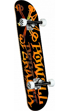 Powell Peralta Vato Rat Sunset Black Complete Skateboard - 7.5 x 28.65